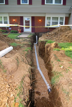 Sewer and Drain Repairs in Stoughton Mass.