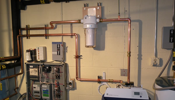 Water Filtration Installation Services in Stoughton Mass.
